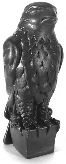 1941 Maltese Falcon Statue - Black Resin Casting