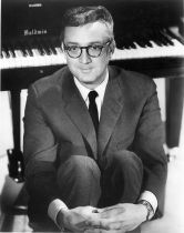 Steve Allen at piano publicity shot - The Steve Allen Show