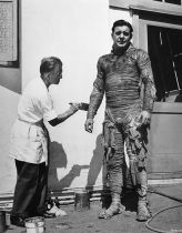 Jack Pierce and Lon Chaney JR Karis make up #1