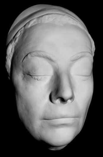 Joan Crawford Life Mask - her last - 1970