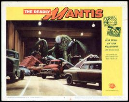 The Deadly Mantis Lobby Card #4