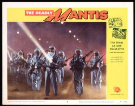 The Deadly Mantis Lobby Card #5