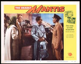 The Deadly Mantis Lobby Card #7