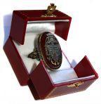 Dracula Crest Ring