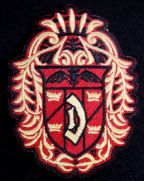 Dracula Crest Embrodered Patch