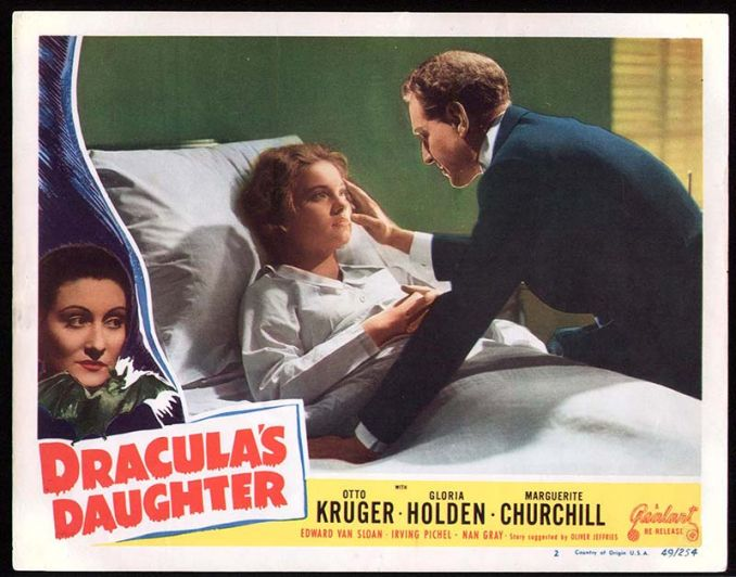 Dracula's Daughter Lobby Card Reel Art #1