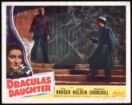 Dracula's Daughter Lobby Card Reel Art #4