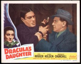 Dracula's Daughter Lobby Card Reel Art #5