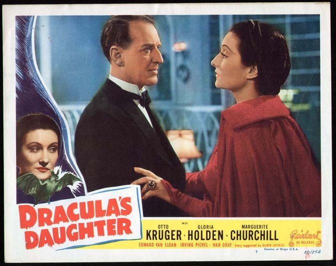 Dracula's Daughter Lobby Card Reel Art #7