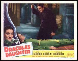 Dracula's Daughter Lobby Card Reel Art #8