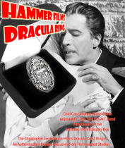 Christopher Lee Dracula Crest Ring