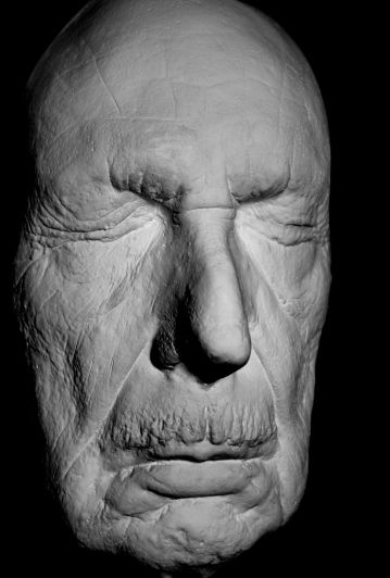 Vincent Price Life Mask - his last - 1988