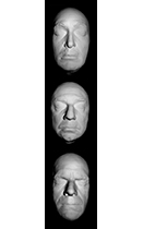 Price - Lugosi - Karloff Life Mask Set Cast in Resin