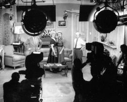 I love Lucy Cast and crew on set Photo
