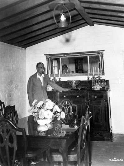 Boris Karloff at home c1930s Photo #1