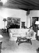 Boris Karloff at home c1930s Photo #3