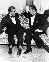 Bela Lugosi and Boris Karloff Hypno photo
