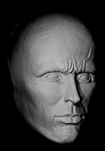 Peter Weller as Robocop Life Mask - Haunted Studios™ Exclusive