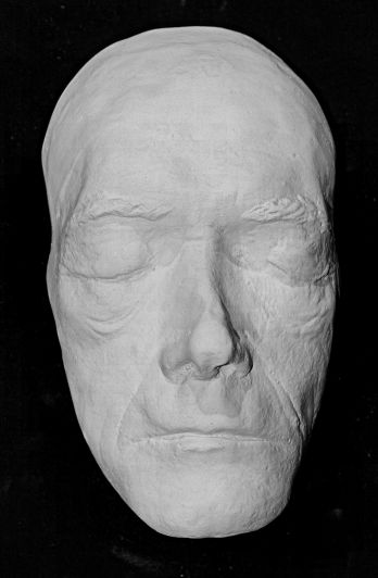 John Carradine Life Mask from 1940s